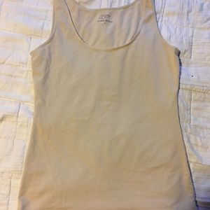 Ann Taylor tank top, off-white, size small